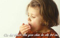 Các bài thuốc dân gian chữa ho cho trẻ em hiệu quả, ít ai biết2