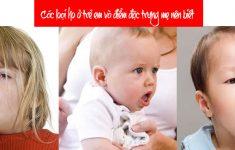 Các loại ho ở trẻ em và điểm đặc trưng mẹ nên biết1