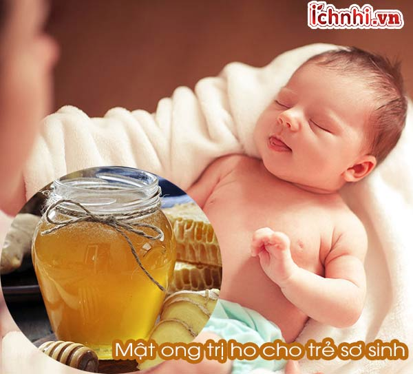 Dùng mật ong trị ho cho trẻ sơ sinh như thế nào cho an toàn?