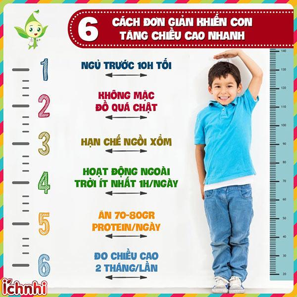 +6 Cách tăng chiều cao cho trẻ dậy thì sớm hiệu quả