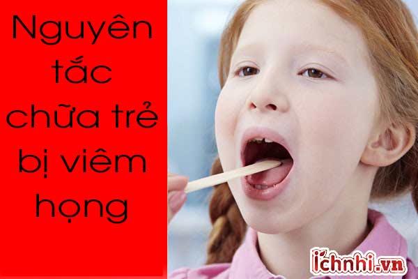 Cách chữa cho trẻ bị viêm họng bằng dân gian hiệu quả