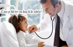 Làm gì khi trẻ em hay bị ho nhiều? Nguyên nhân + cách chữa3