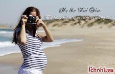 Bị cảm khi mang thai phải làm sao? Chia sẻ từ mẹ 8X1