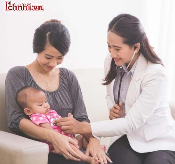 Nguyên nhân, triệu chứng và cách chăm sóc trẻ bị viêm phổi 3