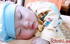 Cách chữa ngạt mũi cho bé khi ngủ hiệu quả, ít ai biết1