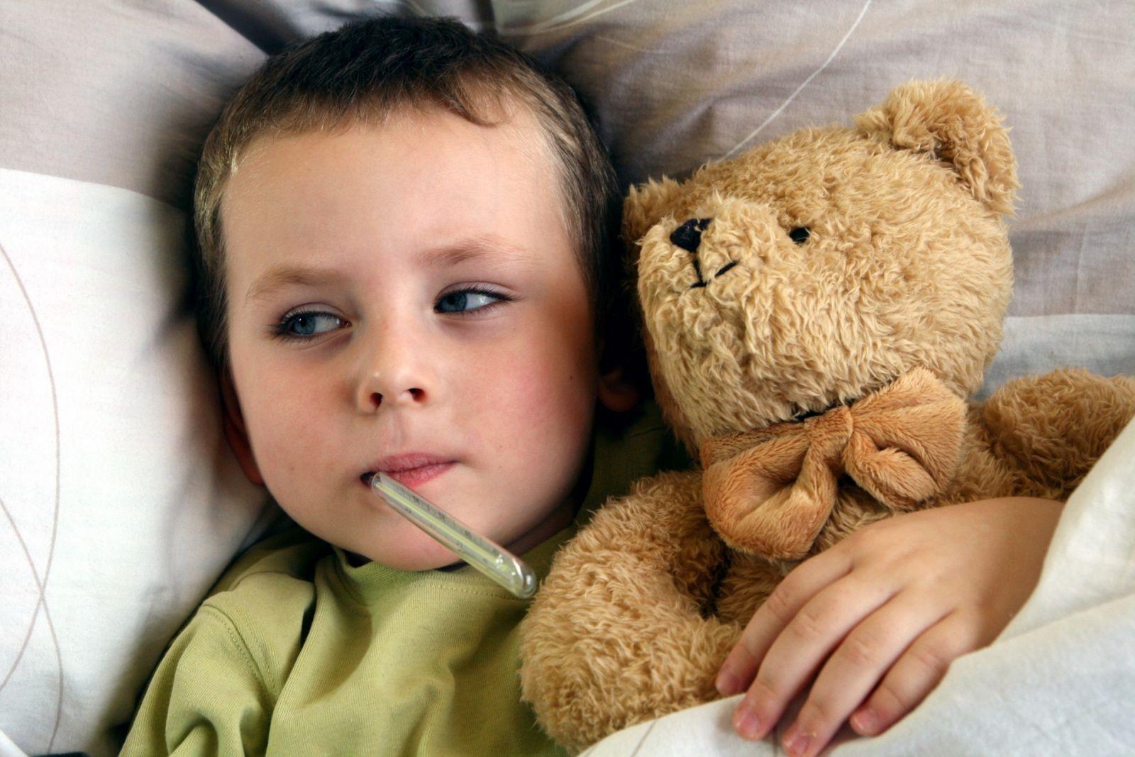 Điều trị cho bé bị cảm