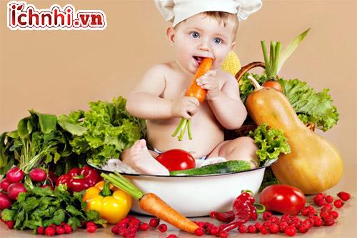 Chế độ dinh dưỡng dành cho bé bị ho có đờm vào buổi sáng