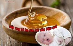 Mẹ đã biết cách dùng mật ong trị ho cho trẻ hiệu quả chưa?23