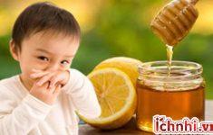 Mật ong với chanh có tác dụng gì với bà bầu và trẻ nhỏ?1