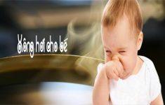 Các mẹo chữa ngạt mũi cho trẻ sơ sinh