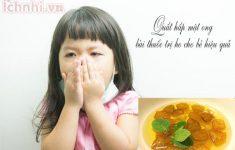 Quất hấp mật ong bài thuốc trị ho cho bé hiệu quả, ít ai biết3