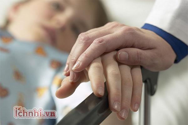 1. Trẻ bị viêm tiểu phế quản