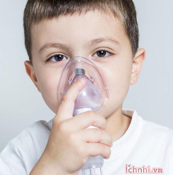 2. Bé bị hen suyễn