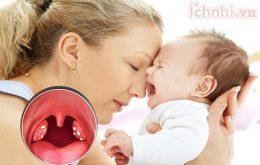 Bệnh viêm họng mủ ở trẻ em nguy hiểm khôn lường? Mẹ nên biết3