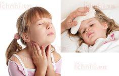 Trẻ bị sốt viêm họng phải làm sao? +Cách chăm sóc hiệu quả2