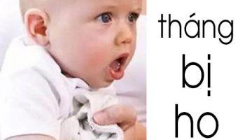 1. Nguyên nhân dẫn đến trẻ 6 tháng bị ho