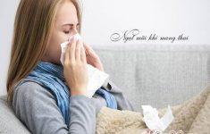 Tại sao bà bầu bay bị ngạt mũi khó thở? và cách chữa trị