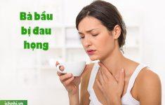 Những điều cần biết khi bà bầu bị đau họng