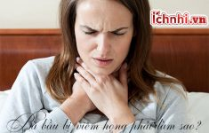 Bà bầu bị viêm họng phải làm sao? Dấu hiệu và cách điều trị1