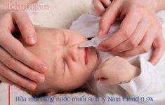 Trẻ sơ sinh bị ho sổ mũi thở khò khè mẹ nên làm gì?