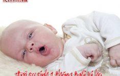Trẻ sơ sinh 1 tháng tuổi bị ho phải làm sao? + Cách chữa3