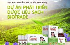 Siro Ho - Cảm Ích Nhi tự hào nằm trong dự án phát triển dược liệu sạch Châu Âu (BioTrade)