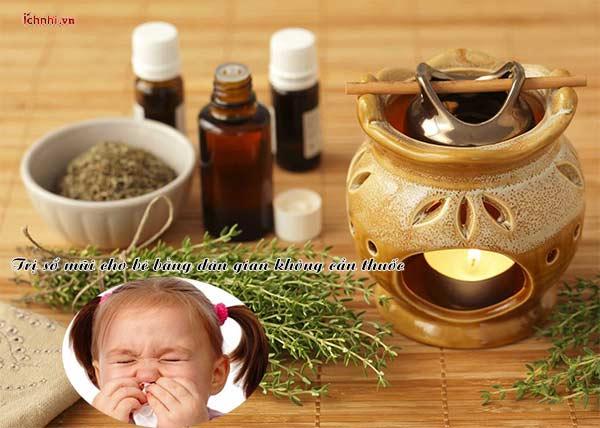 [Mẹo hay] Cách trị sổ mũi cho bé bằng dân gian không cần thuốc