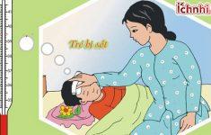 Những điều cần biết khi trẻ bị sốt1
