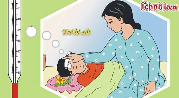Những điều cần biết khi trẻ bị sốt