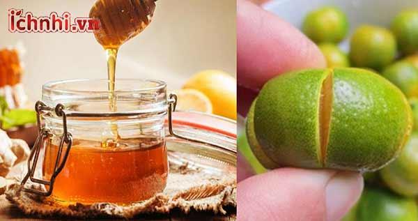 3. Bài thuốc trị cảm từ quất xanh và mật ong