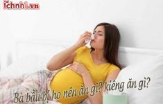 Bà bầu bị ho, cảm nên ăn gì và kiêng ăn gì? không nên bỏ qua8