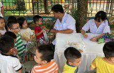 Nhãn hàng Ích Nhi cùng phòng khám An Nhiên tổ chức chương trình khám miễn phí tại Nam Định2