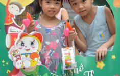 Trung thu ý nghĩa của các em nhỏ HH Linh Đàm cùng nhãn hàng Ích Nhi1