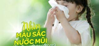 Cách trị sổ mũi cho trẻ em tại nhà hiệu quả ít ai biết