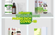 Điểm danh tủ thuốc cho bé phòng dịch Covid-192