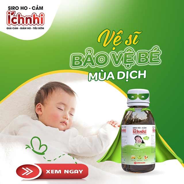 Siro trị ho cảm cho bé Ích Nhi - Thuốc trị ho cho bé an toàn và hiệu quả 6