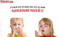 Nguyên nhân và +3 Cách trị sổ mũi cho trẻ sơ sinh nhanh nhất1