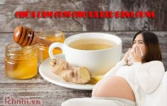 Cách chữa cảm cúm cho bà bầu bằng gừng3