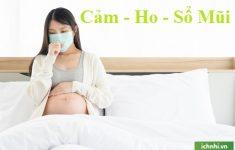 dấu hiệu của cảm cúm khi mang thai