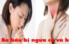 9 Cách trị ho ngứa cổ cho bà bầu an toàn hiệu quả ít ai biết