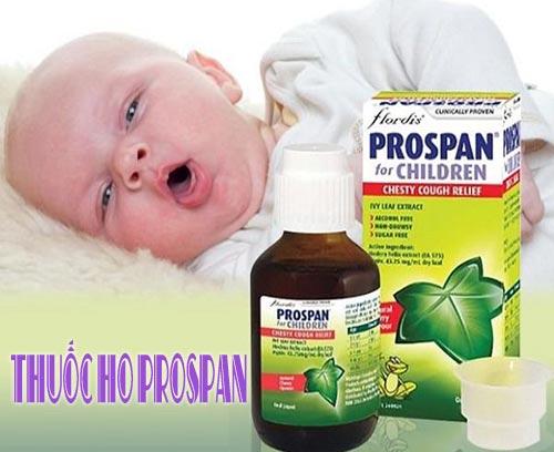 Về Thuốc ho Prospan