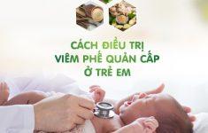 Tiết lộ cách điều trị viêm phế quản cấp ở trẻ em từ chuyên gia2