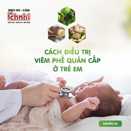 Tiết lộ cách điều trị viêm phế quản cấp ở trẻ em từ chuyên gia1