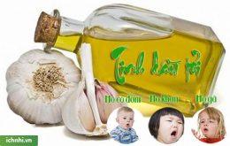 Mách mẹ cách làm dầu tỏi trị ho cho bé hiệu quả, dễ áp dụng1