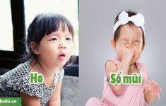 Trẻ 5 tháng tuổi bị ho và sổ mũi phải làm sao? Mẹ nên làm gì